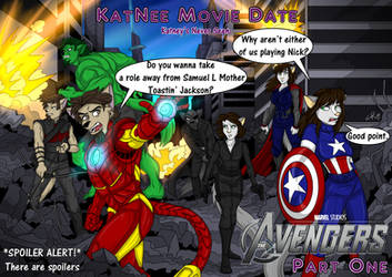 KatNee Movie Date - The Avengers, Part One by KatneySK