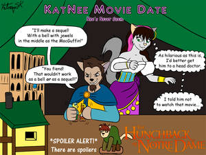 KatNee Movie Date - The Hunchback of Notre Dame