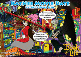 KatNee Movie Date: The Book of Life