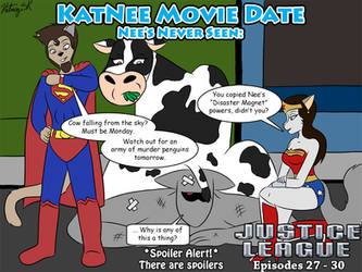 KatNee Movie Date: Justice League Episodes 27 - 30