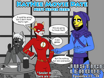 KatNee Movie Date: Justice League Episodes 31 - 34