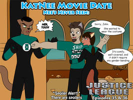 KatNee Movie Date: Justice League Episodes 35 - 36