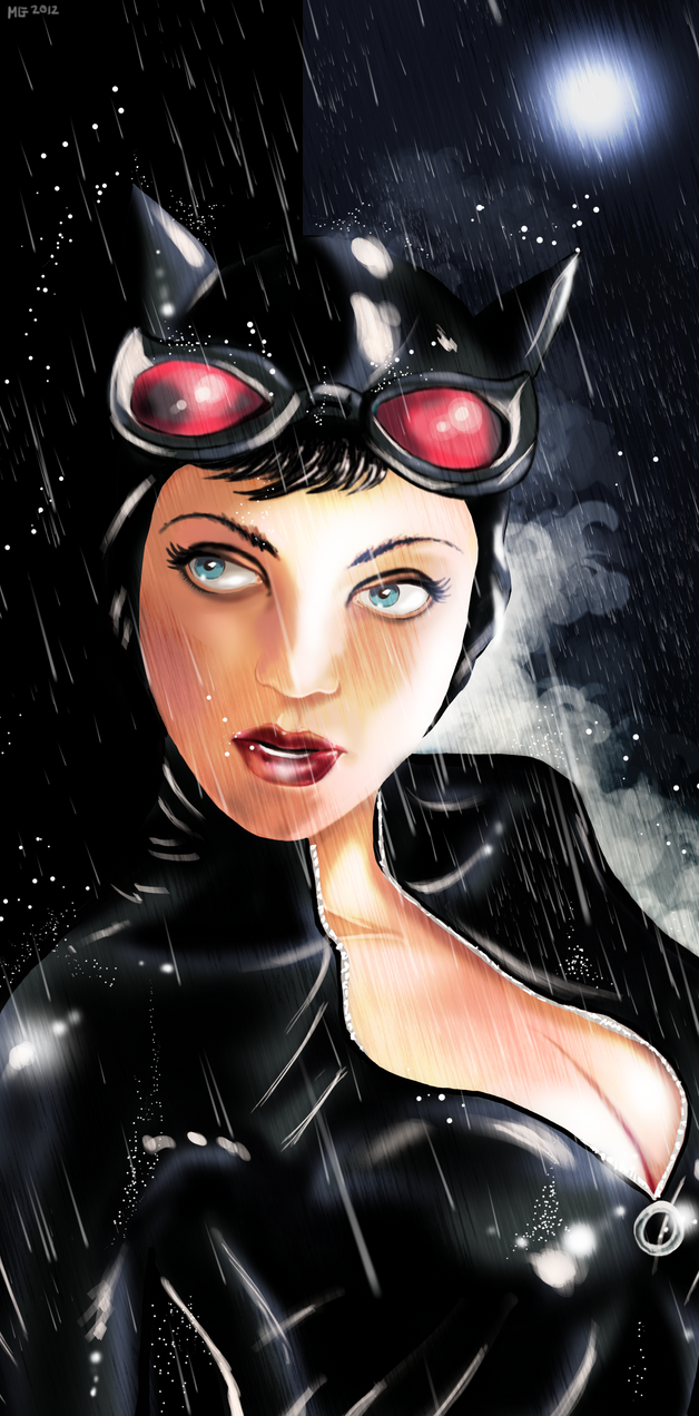Catwoman - Wet Cat by MassimoGuidi on DeviantArt