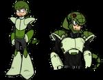 Snakeman doodles