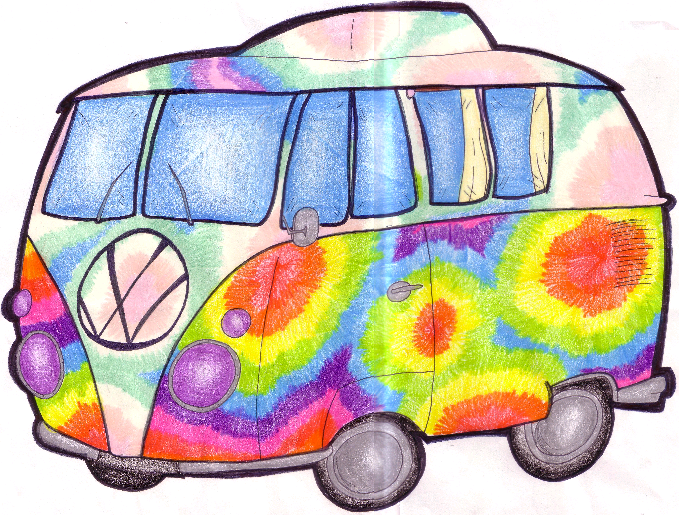 Hippie Van by Chloemew4ever on DeviantArt