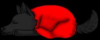 Sleeping Wolf by SasukeXatBGMaker