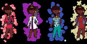 Igria's favourite outfits. by AshleyLeDork