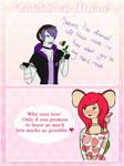 Valentine's Day Meme Jackie's Response by AshleyLeDork