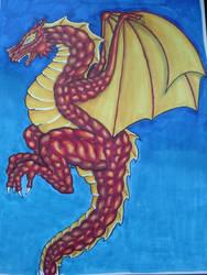 dragon by cryhaze