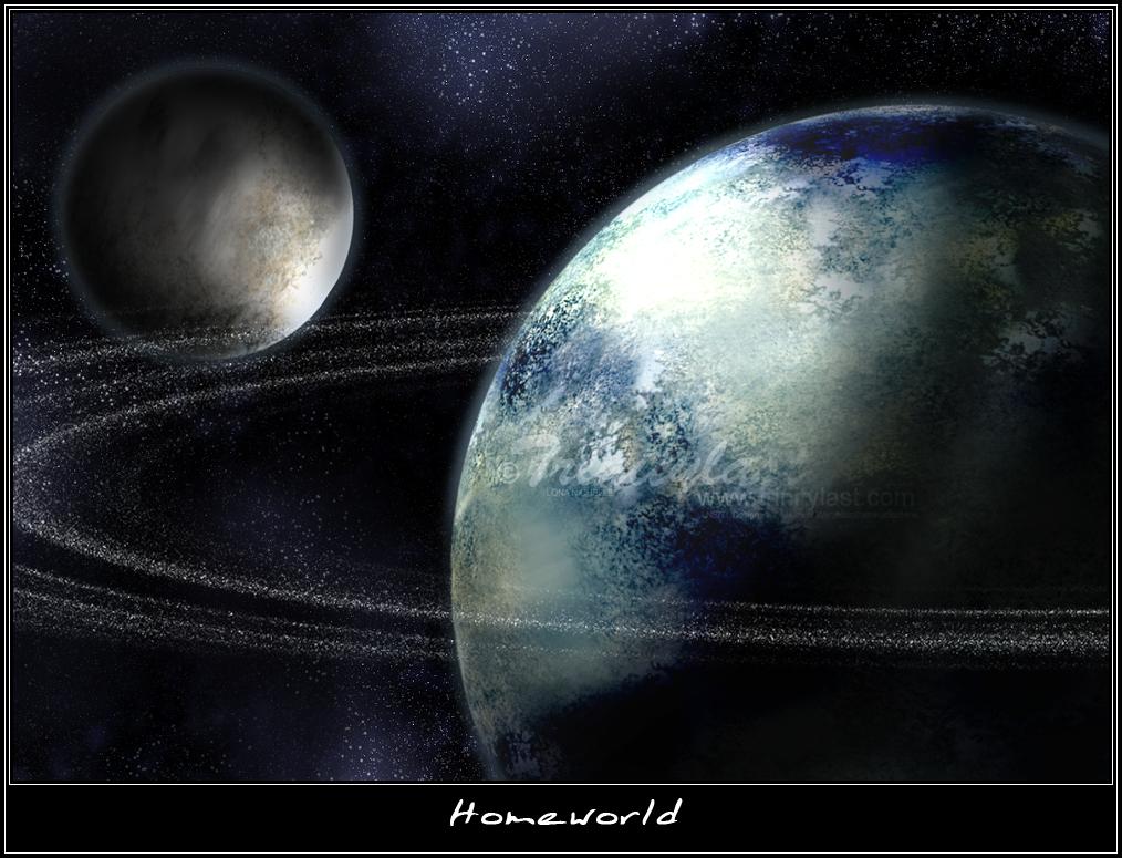 Homeworld by trinitylast