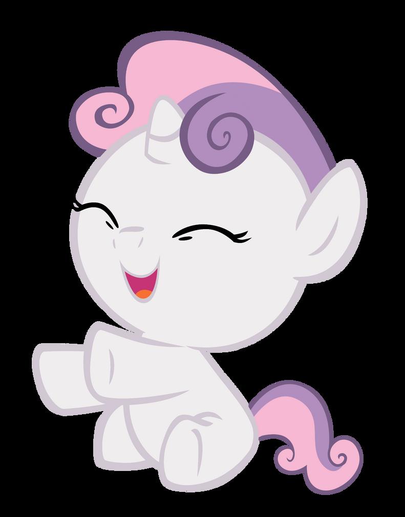 My little pony sweetie belle baby - photo#3