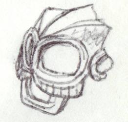 Mask of Aging by bonesiii