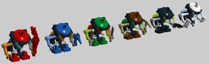 Micro-Bionicle -- Bohrok Va