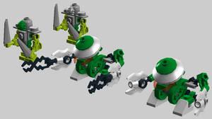 Micro-Bionicle -- Vacuum Bohrok-Kal