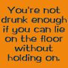 not drunk enough by BlueRavenAngel