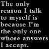 only reason by BlueRavenAngel