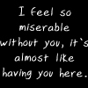 so miserable by BlueRavenAngel