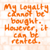 My loyalty by BlueRavenAngel