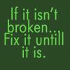If it isn't broken... by BlueRavenAngel