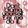 Don't blame yourself by BlueRavenAngel