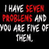 Seven problems by BlueRavenAngel