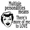 Multiple personalities by BlueRavenAngel