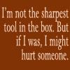 Sharpest tool by BlueRavenAngel