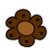 Brown flower by BlueRavenAngel