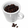 Cup of coffee beans by BlueRavenAngel