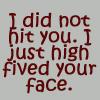 High five by BlueRavenAngel