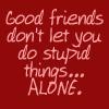 Good friends by BlueRavenAngel