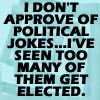 Political jokes by BlueRavenAngel