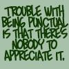 Punctuality by BlueRavenAngel