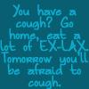 Cough medicine by BlueRavenAngel