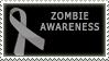 Gray ribbon - zombies by BlueRavenAngel