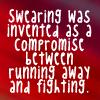 Swearing 1 by BlueRavenAngel