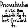 Procrastination 2 by BlueRavenAngel