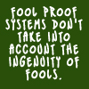 Fool proof systems by BlueRavenAngel