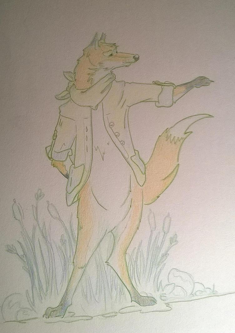 Fantastic Mr Fox by Ninons