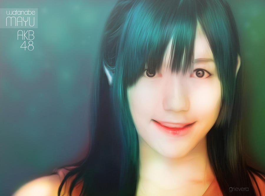 AKB48 || Watanabe Mayu ( Mayuyu ) by Grievera
