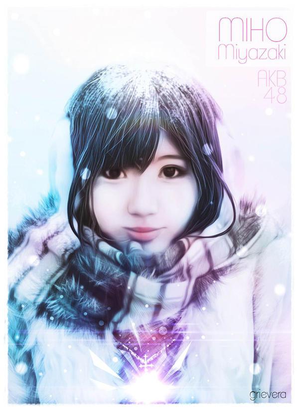 AKB48 || Miyazaki Miho ( Myao ) by Grievera