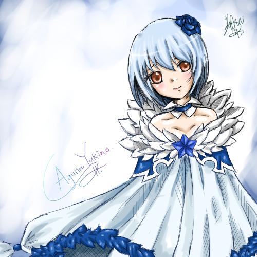 Fairy Tail Yukino: Aguria Yukino By XStarry-Night On DeviantArt