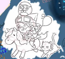 Sketchy Pokemons by xStarry-Night