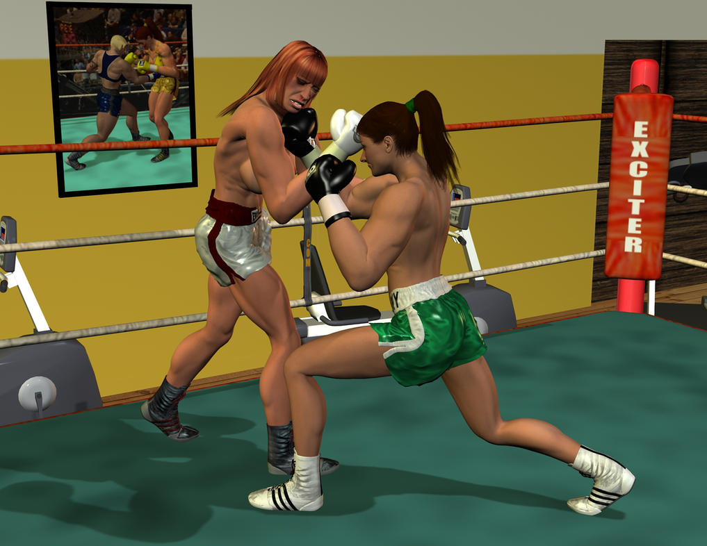 About Boxing: Uppercut to the jaw by Seleneboxer
