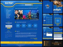Lionfish.hu weblayout by zLk