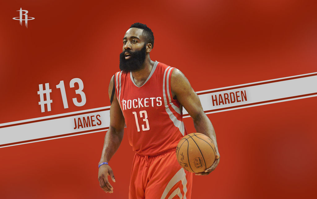 James Harden Wallpaper by Drogoarts ...