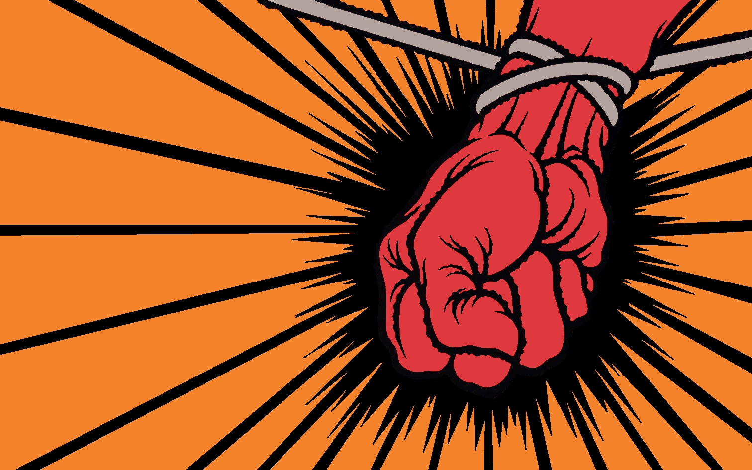 St. Anger Cover Wallpaper by ipunchheads