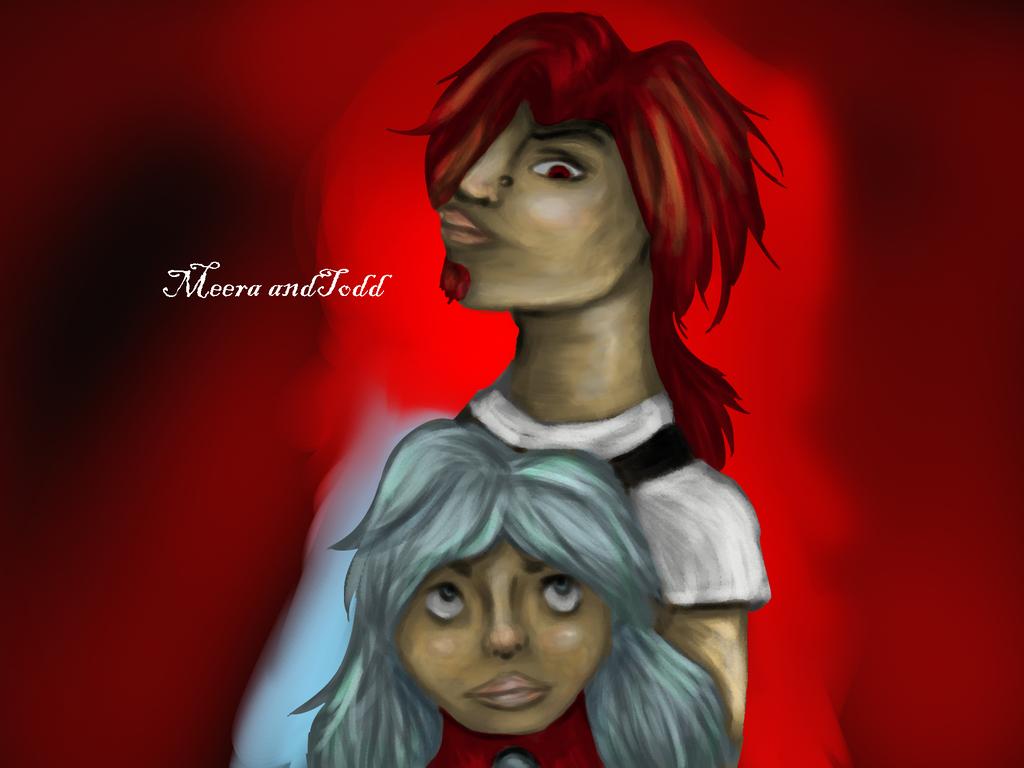 Meera And Todd by StarlightArtt