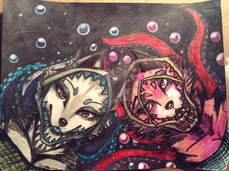 Mermaids by Imhunnysbunny