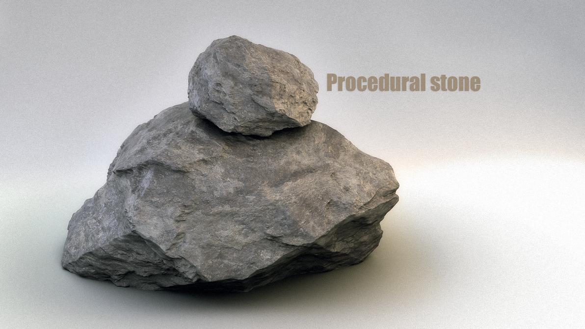 Procedural Stone by Da...